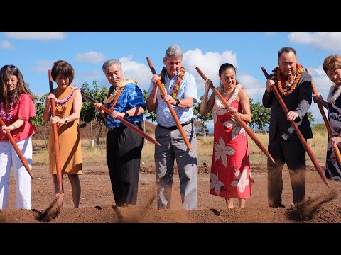 Construction on Academy for Creative Media building at UH West O'ahu begins