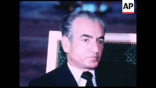 UPITN 17 4 78 PAHLAVI SHAH OF IRAN INTERVIEWED ON A RANGE OF SUBJECTS