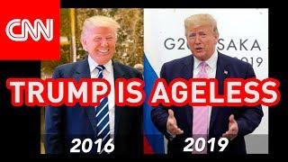 CNN: 5 Reasons Why Trump isn't Aging  ● 2016-2019 ● Chris Cuomo's Attack