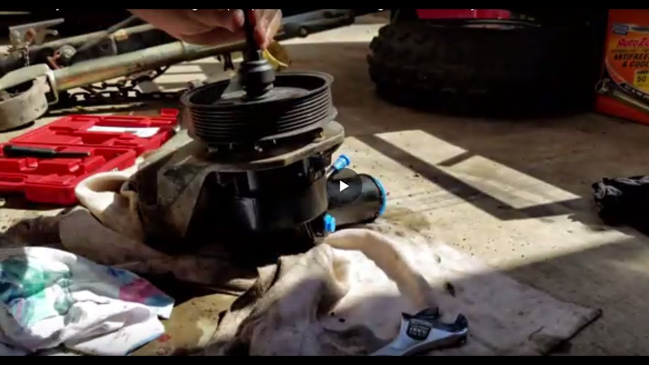 ford 7 3 hydroboost power steering pump replacement and bleeding air out of the system full video [ 1280 x 720 Pixel ]