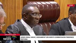 Arms Deal Saga | Judgement on Seriti Commission Findings