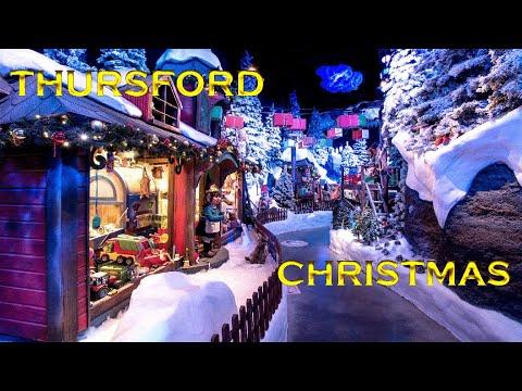 Thursford Christmas || Tubers FunFam trip to see Father Christmas