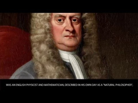 Isaac Newton - Famous Scientists Bios - Wiki Videos by Kinedio