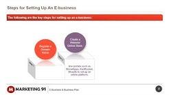 E Business & Business Plan