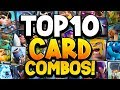 Top 10 Deadly CARD COMBOS in Clash Royale 2019