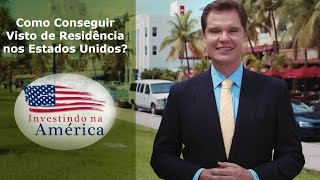Como conseguir visto de residência nos EUA? Dr. Alexandre Piquet Responde