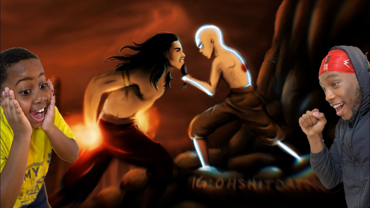 Download Aang Vs Fire Lord Ozai *REACTION*    Final Battle - Avatar The Last Airbender