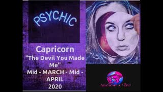 "Capricorn, ""The Devil They made Me."""