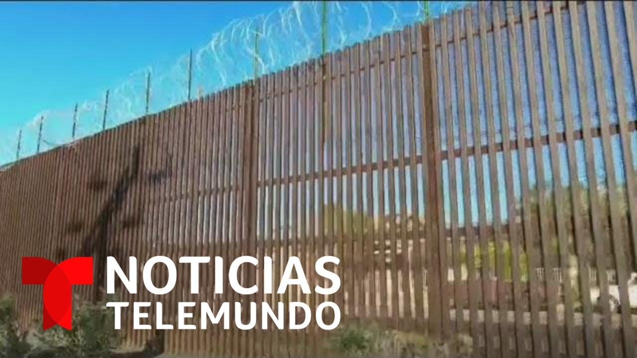 Download Hombre cruza el muro fronterizo de Trump atravesando una 'puerta secreta'  | Noticias Telemundo