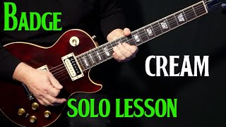 """how to play """"Badge"""" on guitar by Cream 