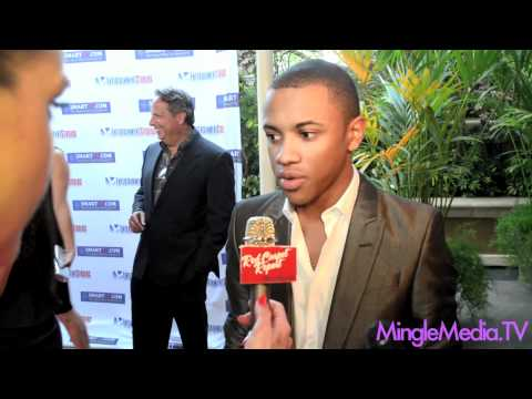 Tequan Richmond at Byron Allen's Emmy Nomination & Launch Event