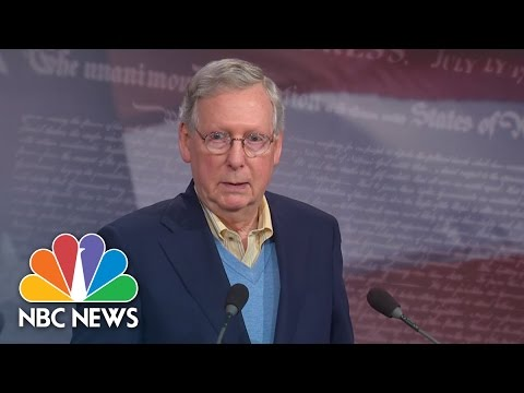 Mitch McConnell Promises To Work With Democrats | NBC News