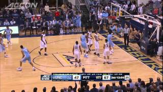North Carolina vs Pittsburgh | 2014-15 ACC Men's Basketball Highlights