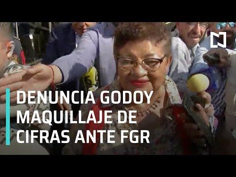 Ernestina Godoy denuncia maquillaje de cifras ante FGR - Las Noticias