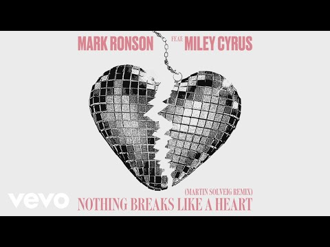 Mark Ronson - Nothing Breaks Like a Heart (Martin Solveig Remix) [Audio] ft. Miley Cyrus