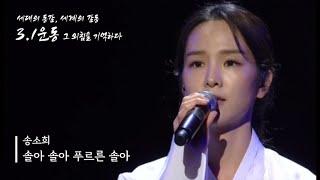 [TV] 190301 TV조선 그 외침을 기억하다 송소희 - 솔아 솔아 푸르른 솔아 (저화질)