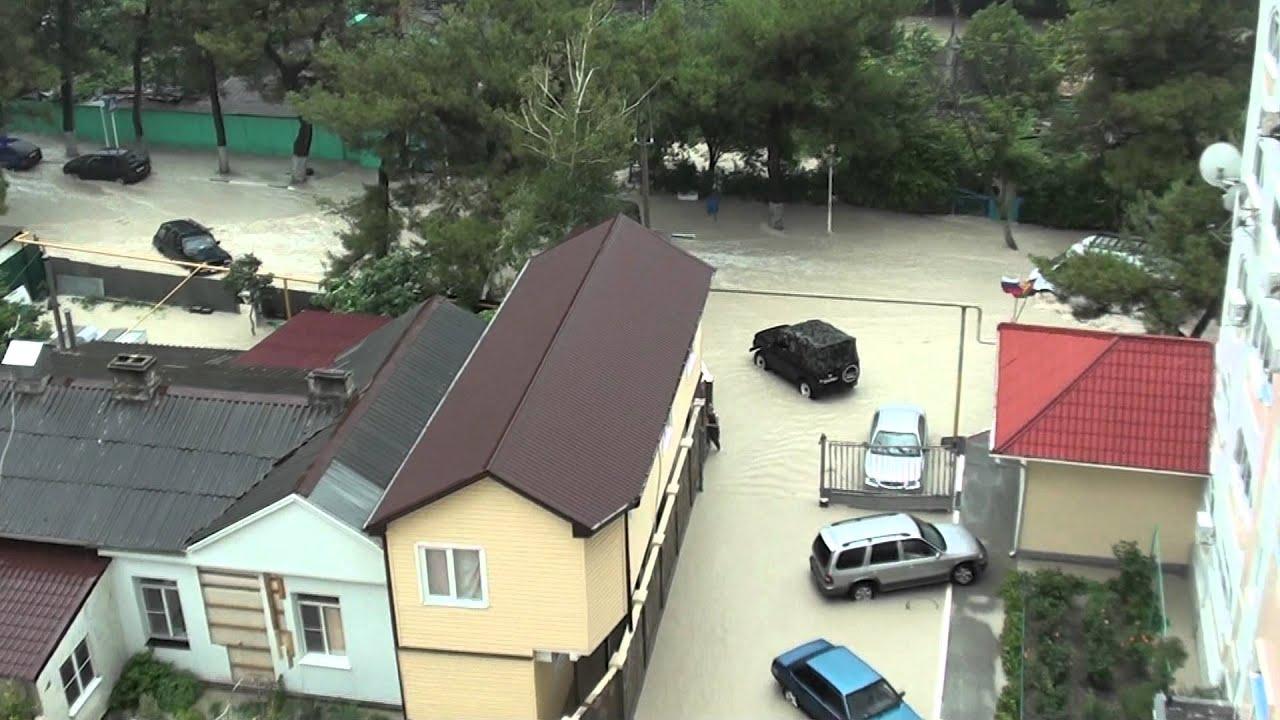 фото геленджик 2012 наводнение июль