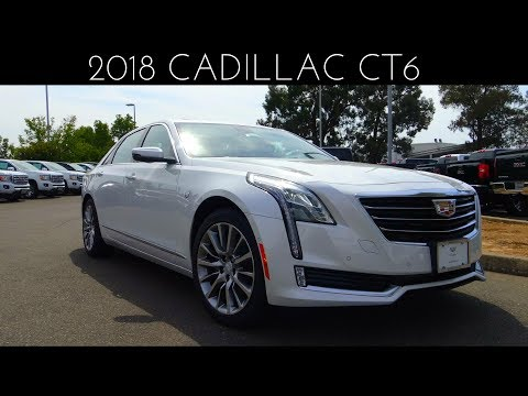2018 Cadillac CT6 3.6 L V6 Review & Test Drive