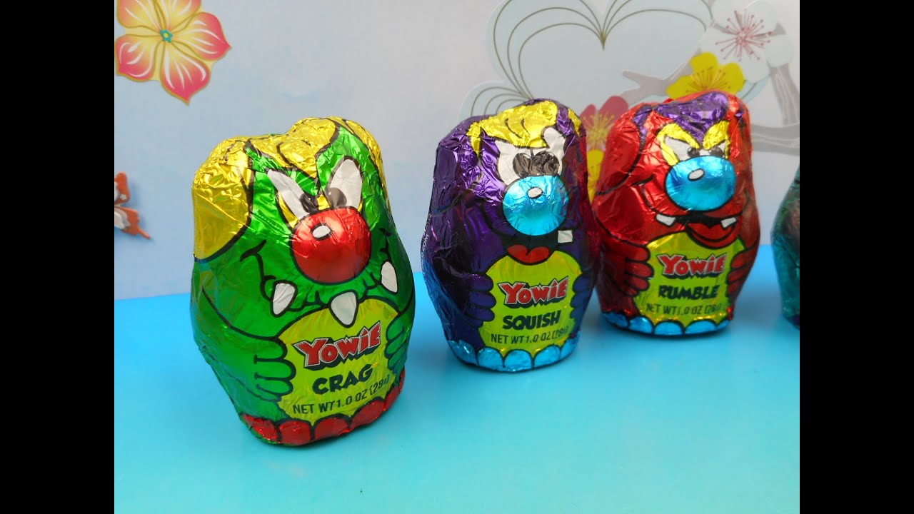 AUSTRALIAN CANDY YOWIE TOY FILLED CHOCOLATE CHARACTERS ...