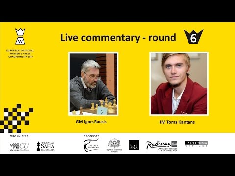Round 7 - European Women's Chess Championship 2017