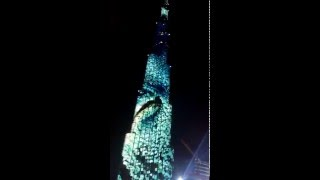 Burj Khalifa LED Show: The Guinness World Record