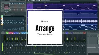 How to arrange your beats for better Song Structure