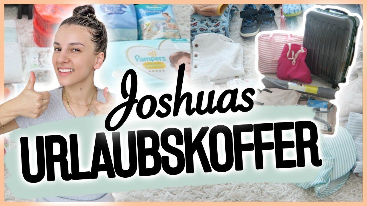 REISEN mit KIND I Ich packe JOSHUAS KOFFER (23 Monate) I FoxyLovez