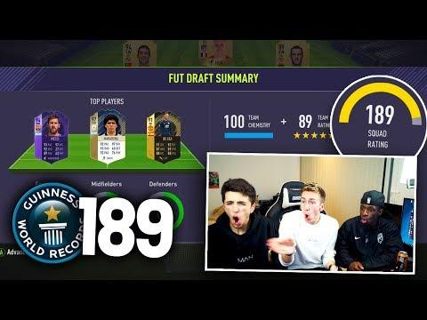 HIGHEST RATED FIFA 18 FUT DRAFT!! VS MINIMINTER & TBJZL
