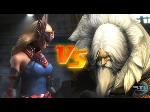 Sharon Rogers vs Odin (Modo História 12-8) - MARVEL Future Fight
