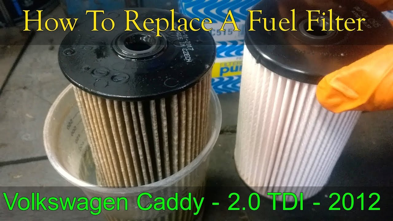 Vw Fuel Filter Location