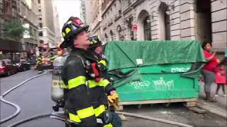 FDNY BOX 662 - FDNY RESPONDING TO & ON SCENE OF QUICKLY KNOCKED 10-77 HIGH RISE FIRE ON 28TH ST.