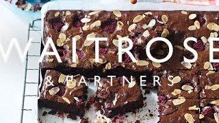Easy Raspberry Brownies | Waitrose