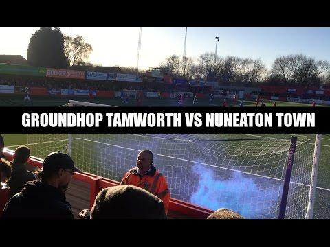 Groundhop Tamworth FC VS Nuneaton Town /The Lamb