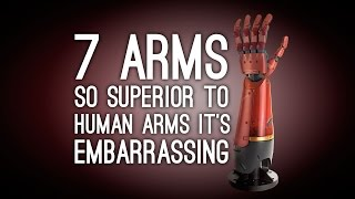 7 Arm Upgrades So Superior to Regular Human Arms It