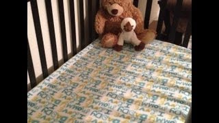 Tutorial: Sewing Crib Sheets - Fleece