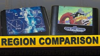 Bio-Hazard Battle for Sega Genesis (Region Comparison)