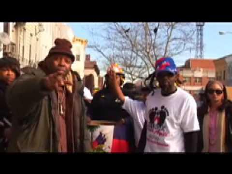 MIKEY JARRETT AND FRIENDS HELP HAITI !!MUSIC VIDEO