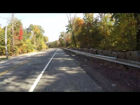 Cycling to Piermont, NY from George Washington Bridge via Henry Hudson Drive (River Road) & Route 9W