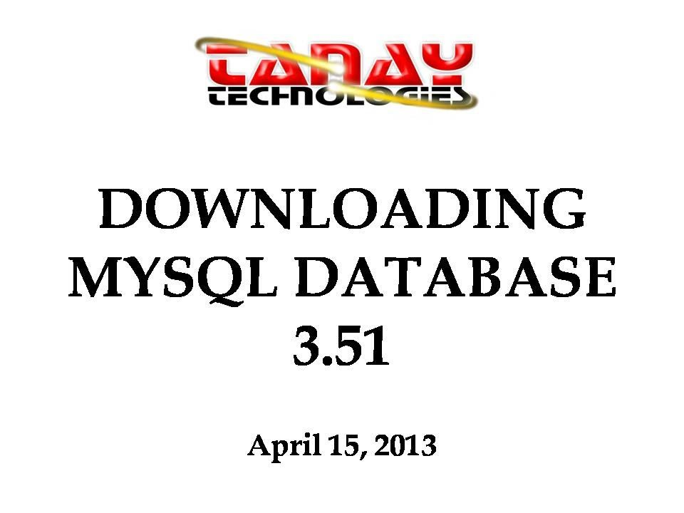 Myodbc 3. 51 driver download.