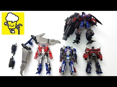 Different Optimus Prime Transformer Movie Toys With Jetfire Jetwing トランスフォーマー 變形金剛