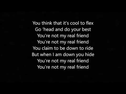 Real Friend - By: Karizma (Lyric Video)