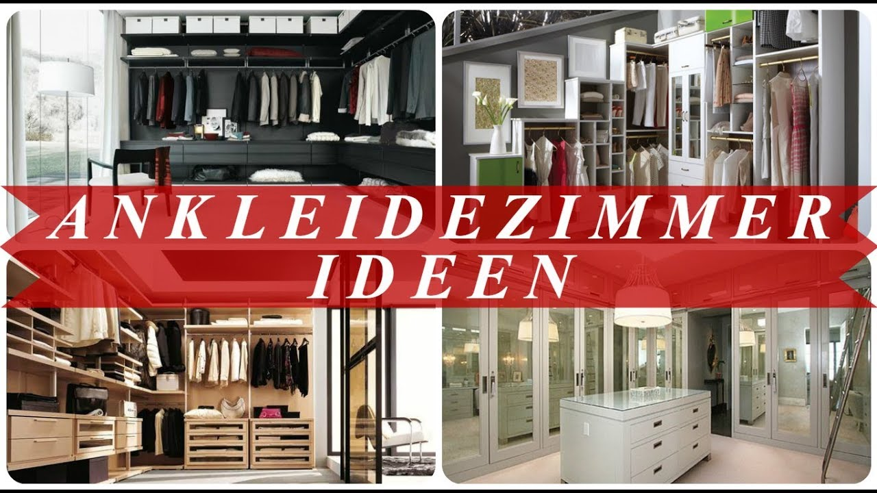 begehbarer kleiderschrank ideen youtube. Black Bedroom Furniture Sets. Home Design Ideas
