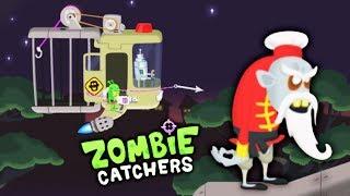 ОХОТА НА ЗОМБИ БОССА из КИТАЯ! Детский летсплей по мульт игре ЛОВЦЫ ЗОМБИ Zombie Catchers