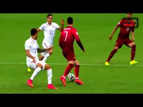 Afrique Sports   Cristiano Ronaldo  Compétences les plus folles