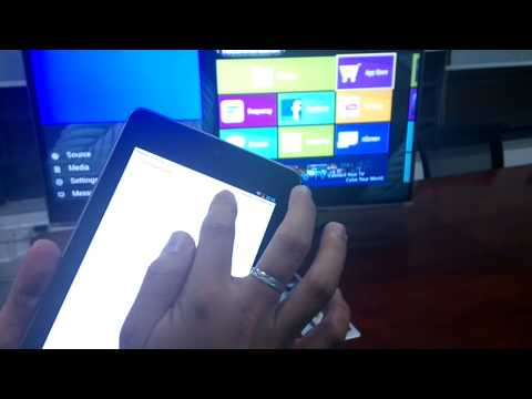 how to connect phone to toshiba tv