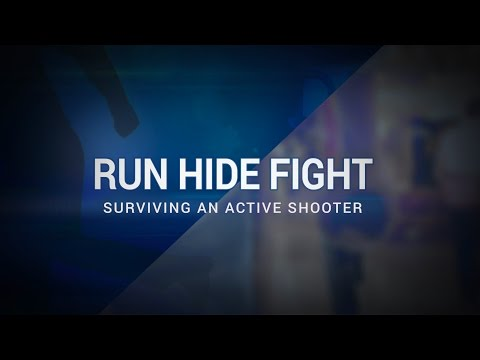 2. Surviving An Active Shooter: Run.Hide.Fight! - Basic Tactics