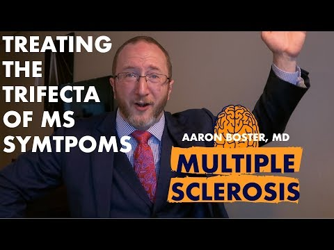 Multiple Sclerosis Video MS Symptoms: Treating The Trifecta!