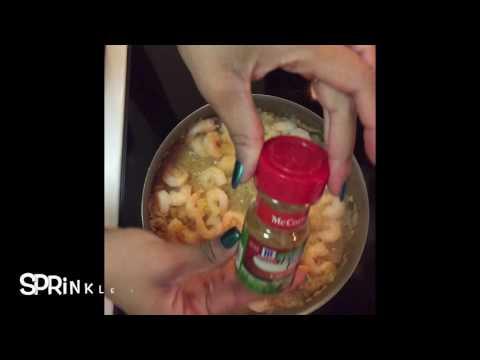 Quick Fix Meal:Shrimp Stuffed Baked Potato