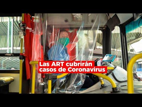 Coronavirus: las ART cubrirán casos de trabajadores exceptuados