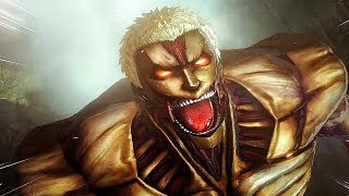 Attack on Titan 2 Final Battle - Reiner, Armored Titan Boss Fight (Season 3)